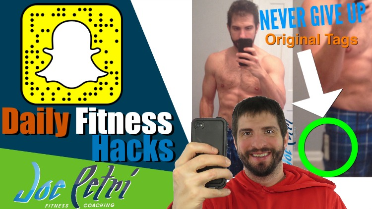 Daily Fitness Hacks Snap Chat